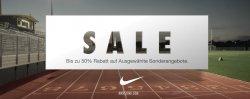 50% Rabatt beim Sale im Nike-Shop