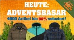 Adventsbasar bei 4clever.de: Winterjacken bis zu 90% reduziert