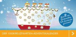 Adventskalender bei 1000Kreuzfahrten.de – u.a. eine Kreuzfahrt zu gewinnen