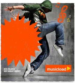 Auf Facebook werden musicload.de Gutscheine für einen Song verschenkt