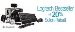 Bei amazon: 20% Sofort-Rabatt auf Logitech – Bestseller