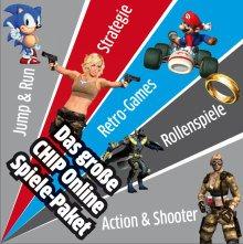 Das kostenlose CHIP Online Spiele-Paket – die 50 besten Games gratis