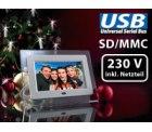 Digitaler Bilderrahmen (17,8 cm TFT ) für 19,90 € statt 69,90 € bei Pearl.de, 72 % sparen