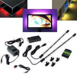 Revoltec RGB LED Ambiente Beleuchtung für den TV, Couchtisch, Unterbodenbeleuchtung etc. für 29,89 € bei eBay