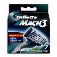 Gillette Mach3 Rasierklingen 6 Stück + 1 Fusion ProGlide Power Rasierklinge für 5€ bei schlecker