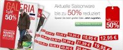 Großer Winter-Sale bei Galeria Kaufhof: Bis zu 50 Prozent reduzierte Saisonware. Keine Versandkosten!