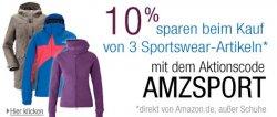 Gutschein: 10% Rabatt auf Sportswear von Top-Marken für Fitness, Outdoor & mehr
