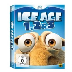 Ice Age – Box Set Teil 1-3 [Blu-ray] nur 14,99€ @ Amazon
