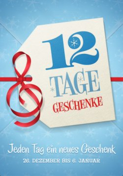 iTunes – 12 Tage Geschenke (vom 26.12 bis 06.01) Kostenlos! Gratis Musik/apps/ uvm.!