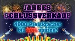 Jahres-Schlussverkauf bei 4clever.de bis 90% Rabatt