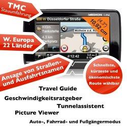 Navigationssystem Medion GoPal E4240 (B-Ware) mit TMC jetzt schon für versandkostenfreie 55 Euro bei Ebay