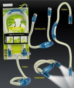 Praktische Flex-LED-Lampe – tragen, wickeln, stellen nur 8,80 € inkl. Versand
