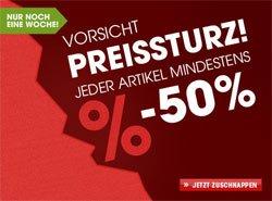 Preissturz! Jeder Artikel mindestens 50% reduziert bei Otto.de