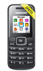 Samsung E1050 + Prepaid Karte mit 55€ Guthaben + 10€ Lieferando Gutschein für 9,95€ bei preis24.de