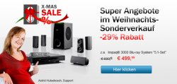 Teufel Boxen XMAS-Sale – 29% Rabatt + Versand kostenlos