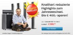 """Teufel Sonderangebote Aktion """"Silvester Knaller""""  7 Produkte bis zu 400 Euro Rabatt"""