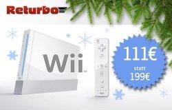 Wii für 111,00€ mit Gutschein bei Returbo.de