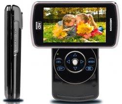 Xmas-Special: 49,99 statt 109 € – Schlanker MEDION P47350 Full HD Camcorder mit 5 Megapixeln und schwenkbarem Display-Inkl.VSK bei Groupon