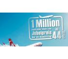 1 Million zusätzliche Tickets zum Jubelpreis ab 49 €* – Air Berlin – nur bis Donnerstag