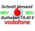 19,40€ Guthaben für Vodafone Callya-Karte für nur12,99€ bei ebay
