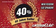 40 Jahre Saller – 40% Jubiläumsangebote