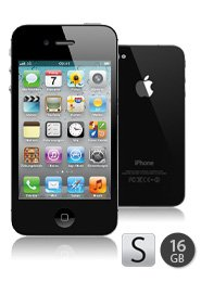 Apple iPhone 4S 16 GB mit T-Mobile-Vertrag, Internetflat, 120 Freiminuten und Weekendflat ab 24,95 Euro/Monat bei sparhandy