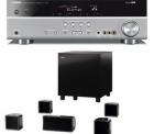 AV-Receiver Yamaha RX-V371 + A 102 HCS 6 titan + 5.1 Lautsprechersystem Jamo A 102 HCS 6 Schwarz vsk-frei für 379 EUR bei redcoon