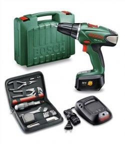 Bosch Akkubohrschrauber PSR 18LI-2 + Gutschein Mixed Titanium Set für 115,90€ incl.Versand