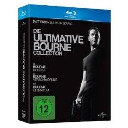Die ultimative Bourne Collection auf Blu-ray für nur 12,97 Euro @Amazon
