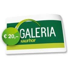 Galeria Kaufhof Gutschein mit 40% Rabatt bei Payback Deals