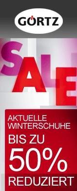 Görtz Sale: 50% + 20% Rabatt auf Winterschuhe + Accessoires