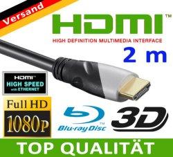 HDMI Kabel (2160p) Sonderposten: 3D, PS3, BluRay & TV nur 4,99Euro inkl. Versand