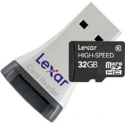Lexar MicroSDHC CL10 32GB Speicherkarte inkl. MicroSDHC-USB-Adapter 34,95 inkl. Versand bei Amazon