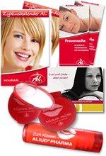 Lippenpflegestift kostenlos bestellen + Taschenspiegel für Frauen bei Aliud Pharma