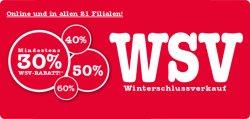 Mind. 30% RABATTauf das Wintersortiment bei McTrek