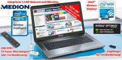 [Lokaler Deal] Ab morgen (19.01.2012) bei Aldi: Medion Akoya P7624 17,3″ Notebook mit GeForce GT630M für nur 549 €