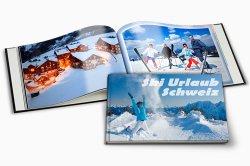 Nicht nur für die Fotos vom Skiurlaub: 60 Seiten  Fotobuch für €19,90 (über 68% sparen)