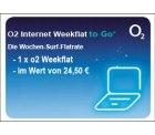 o2 Internet Wochenflat für 6,50€ anstatt 24,50€ bei ebay