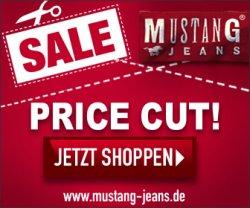 Sale bei Mustang! Hosen, Jacken, Pullis.. bis zu 50% reduziert +5€ Gutschein