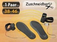 Schuheinlagen mit eingebauter Heizung Gratis bei Pearl, +4,90 EUR Versandkosten