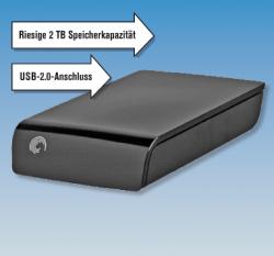 [Lokaler Deal – ab Donnerstag] Seagate externe 2TB Festplatte für nur 89,99 € @Penny