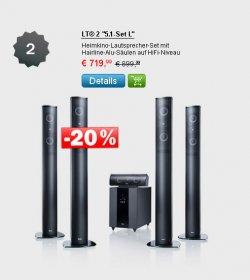 Teufel Lautsprecher  – 20 % Rabatt auf 12 Produkte – Willkommen 2012 Aktion