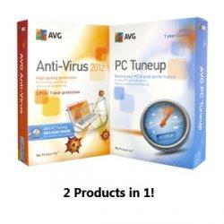 TuneUp Utilities 2012 und AVG Anti-Virus für 3 PC´s Bundle-Aktion zusammen für 23,95 Euro als download
