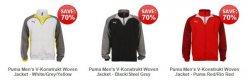 Versch. Puma Men's V-Konstrukt Jacken ab 12,74€ inkl. Versand – dank 20%-Code @ thehut
