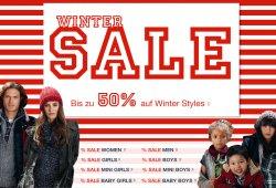 Winter-Sale bei Tom-Tailor: Bis zu 50 Prozent auf ausgewählte Winter-Kleidung + 10 Prozent-Gutschein bei Newsletter-Anmeldung