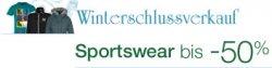 Winterschlussverkauf  (Sportsweare) bis -50% sparen bei amazon