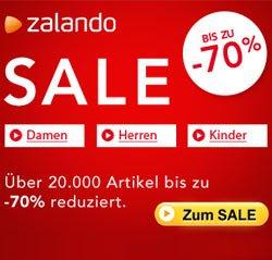 Zalando Sale startet bis zu 70% Rabatt in allen Bereichen