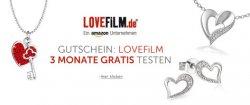 3 Monate gratis LOVEFiLM Flatrate beim Kauf eines Schmuckstück über amazon