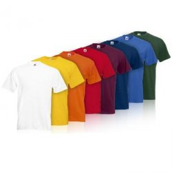 8er Set Fruit of the Loom T-Shirts Valueweight T ab 17,77€ frei Haus von Sim-Buy im dealclub