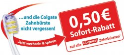 [LOKAL] Colgate Zahnbürste statt 0,99€ nur 0,49€ bei rossmann